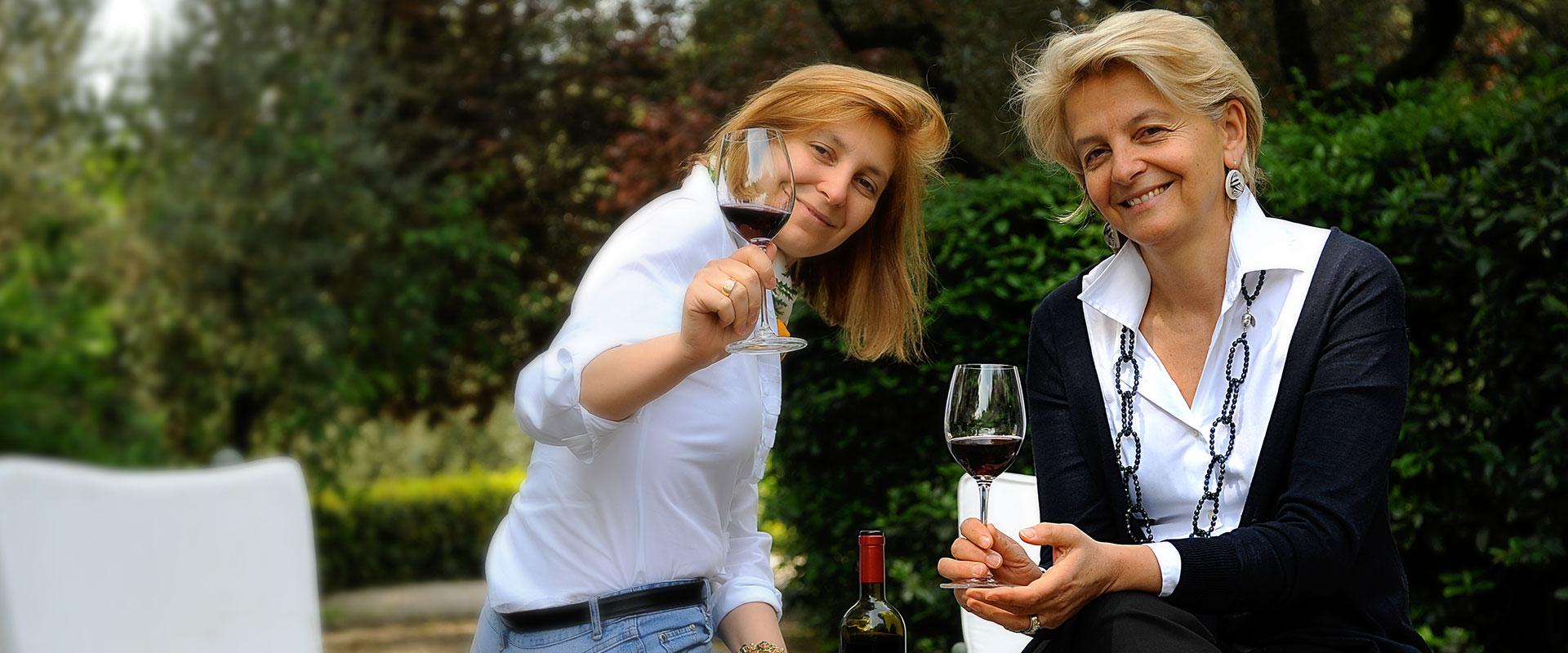 Wein Degustation mit Lungarotti