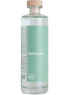 Gintiane London Dry Gin Suisse Larusée